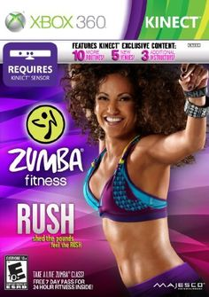 Zumba Fitness Rush  Xbox 360 by Majesco ** Want additional info? Click on the image. Note:It is Affiliate Link to Amazon.