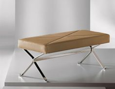 X Bench - Cumberland Furniture End Of Bed Bench, X Bench, Bed End, Ottoman Bench, Pouf Ottoman, Benches, Metal Furniture, Bed Furniture, Fur Bedding
