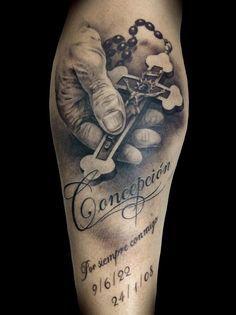 tattoos van rozenkrans - Google zoeken
