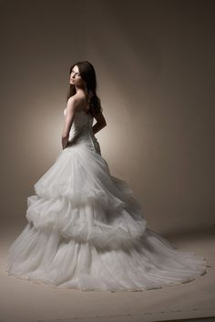 5201 Wedding Dress (Back) – Tia Bridal 2011 Collection