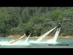 Awesome: The Jetovator water-propelled stunt bike [video]