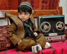 A Kurdish Child_Wearing  Kurdish Traditional  Clothes