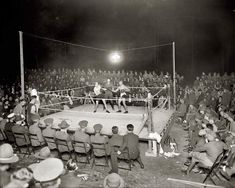 Boxers in the ring at boxing match, Walter Reed Army Medical Center, Washington, D. Post era photo taken between 1918 and Size: x Gender: unisex. Material: Value Poster Paper (Matte). Photography Gallery, Vintage Photography, White Photography, 1920s Photos, Vintage Photos, Bon Sport, Der Boxer, Shorpy Historical Photos, Fight Night