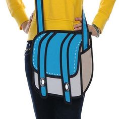 3D cartoon messenger bag - funny gifts, funny birthday gifts or just because