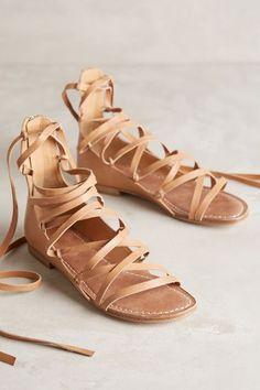 Belle by Sigerson Morrison Appa Gladiator Sandals - anthropologie.com