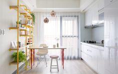 Diez cocinas mini con una estética de alto impacto