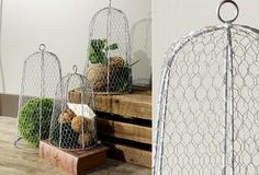 Chicken Wire Cloche | Topiary Frames | Topiary Cages