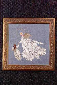 Lavender & Lace - Cross Stitch Patterns & Kits - 123Stitch.com - must be converted. Couldn't possibly do all that white!