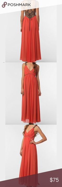 Era of Kymerah Long Dress Beautiful long Dress by Era of Kymerah from Urban Outfitters. Excellent condition. Urban Outfitters Dresses