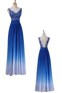 Discount Royal Blue Prom Dresses, Long Prom Dresses,Beaded/Beading Prom Dresses #longpromdresses #promdresses #promdresses2018 #eveningdresses