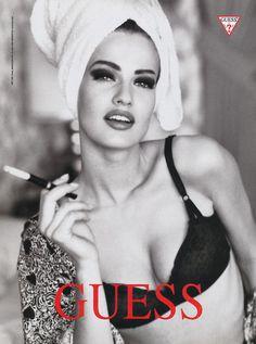 Karen Mulder for Guess (90s)