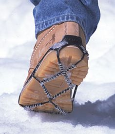 Yaktrax Traction Cleats for Snow and Ice: With these, Keep in survival bag.or i can walk the dog in the winter! Camping Survival, Survival Prepping, Survival Gear, Survival Skills, Wilderness Survival, Camping Gear, Bushcraft, Cool Gear, Snow And Ice