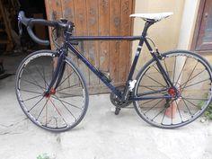 La bici di Angelo montata: prime sensazioni.