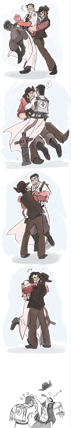 TF2- Victory by MadJesters1 on DeviantArt (I love this artist!!))
