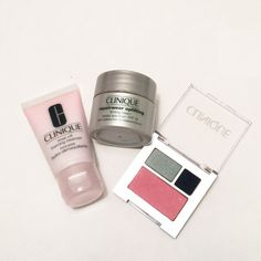 ✨Clinique 3-piece bundle✨cleanser/cream/eyeshadow Clinique 3-piece bundle   Include: ♥️repairwear uplifting firming cream spf15 0.5oz/15ml ♥️rinse off foaming cleanser 1oz/30ml ♥️all about eye shadow and blush palette (eyeshadow color 09 smoke and mirrors, 08wave after wave. Size 0.03oz/1g), (blush 09 Cupid 0.06oz/1.8g) Clinique Makeup