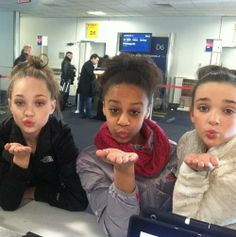 maddie, nia and kendall