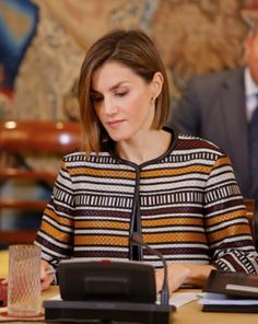 Queen Letizia attend the meeting of Council of the Royal Board on Disability, in Madrid, Spain