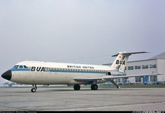 BAC 111-201AC One-Eleven - British United Airways - BUA | Aviation Photo #2696782 | Airliners.net