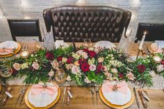 """Centerpiece with antlers 