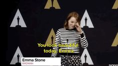 And when she shut this reporter down. | 21 Times Emma Stone Gave Absolutely Zero F*cks