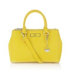 DKNY Saffiano shopper bag