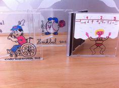 creatief met een cd hoesje