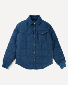 Wool Tweed Down Jacket