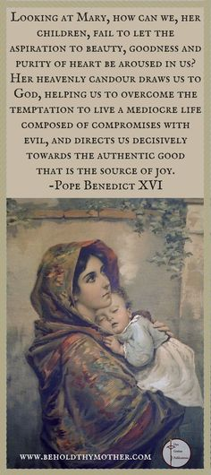 A Scriptural Rosary book, Behold Thy Mother is a Catholic prayer book with Scripture verses from both the Old and New Testaments. Catholic Prayer Book, Catholic Books, Catholic Quotes, Catholic Prayers, Roman Catholic, Religious Sayings, Scriptural Rosary, Queen Of Heaven, Blessed Mother Mary
