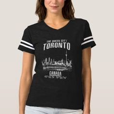 Toronto T-shirt -nature diy customize sprecial design
