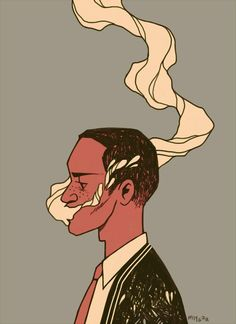 Mel Tow . Character Drawing Illustration