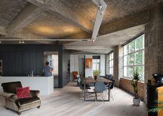 Waanzinnig appartement met stoere betonnen balken in hartje Londen Roomed | roomed.nl
