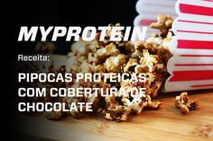 Pipocas Proteicas Com Whey    Whey Popcorn VitaFiber
