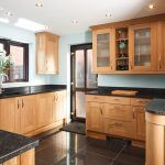 One of the materials that could be an option is solid wood. With solid wood kitchen cabinets, a kitchen will look natural and warm. The selection of wood is
