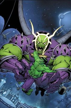 Annihilus is a fictional supervillain appearing in American comic books published by Marvel Comics, primarily as an adversary to the Fantastic Four. His first appearance was in Fantastic Four Annual #6, published in 1968. He was created by writer Stan Lee and writer/artist Jack Kirby. He was responsible for the attacks in the Annihilation comic book event.