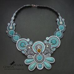 Soutache necklace howlit