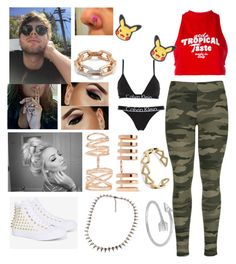 """""""Luke Hemmings little sister"""" by queen-gertrude ❤ liked on Polyvore featuring Repossi, Walters Faith, GCDS, Nintendo, Calvin Klein Underwear, Converse, Midsummer Star and Ekria"""