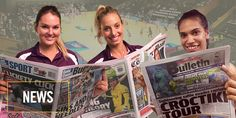 Good idea this one from the ANZ Championship QLD Firebirds to have their players writing columns in newspapers around QLD