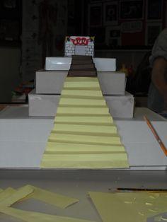 Aztec Pyramid making