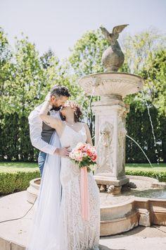 LiUNA Gardens by Lisa Vigliotta Photography Lisa, Gardens, Wedding Dresses, Photography, Fashion, Bride Dresses, Moda, Photograph, Bridal Wedding Dresses