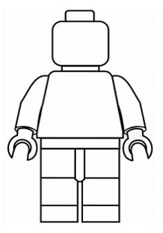 printable legomand