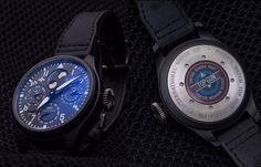 IWC Big Pilot's #Watch - A Tribute to #TopGun