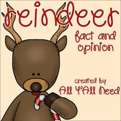 Reindeer: Fact and Opinion by All Y'All Need | Teachers Pay Teachers