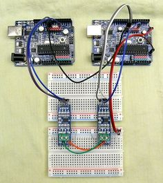 Communication between 2 or more Arduinos over RS485
