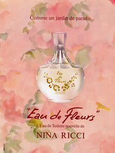 Eau de Fleur - Nina Ricci - 1980