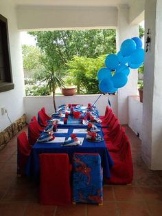 spider man Birthday Party Ideas | Photo 2 of 11 | Catch My Party