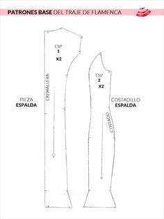 Trasero Flamenco Costume, Flamenco Skirt, Flamenco Dresses, Vintage Sewing Patterns, Clothing Patterns, Dress Patterns, What Is Pattern, Shirt Patterns For Women, Hand Embroidery
