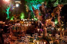 Enchanted Woodland Forest - see whole webpage - LOVE all the colors in these pics