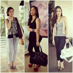 Different ways of wearing clothes salvador Maja Salvador, Filipina Beauty, Celebs, Celebrities, All About Fashion, Dress Me Up, Girl Crushes, Celebrity Style, Feminine
