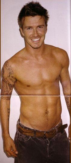 hot cowboys | David Beckham 2008 official calendar pics