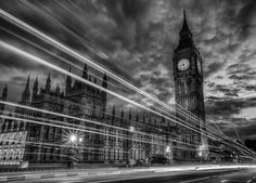 Big Ben B&W by Chris Muir on 500px